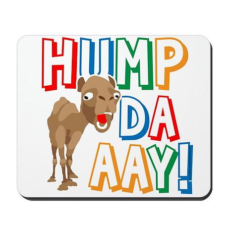 Humpdaaay Wednesday Mousepad