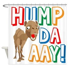 Humpdaaay Wednesday Shower Curtain