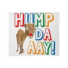 Humpdaaay Wednesday Throw Blanket