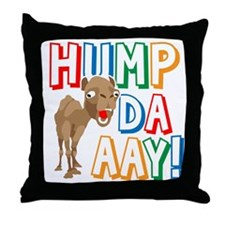 Humpdaaay Wednesday Throw Pillow