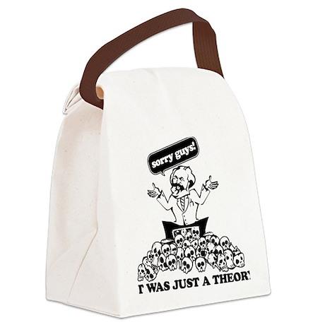 Karl Marx Clear copy Canvas Lunch Bag