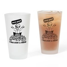 Karl Marx Clear copy Drinking Glass