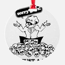 Karl Marx Clear copy Ornament