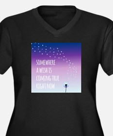 Dandelion Wishes Plus Size T-Shirt