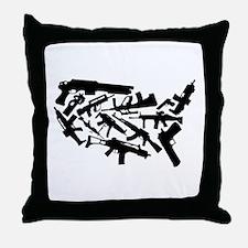 Merica' Throw Pillow