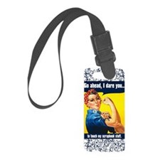 TouchMyStuff-rec Luggage Tag