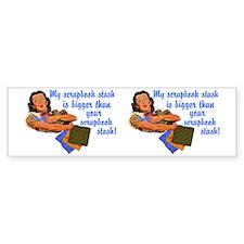 stash-mug Bumper Sticker