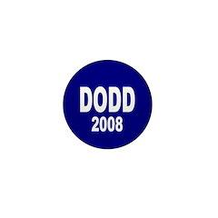 Dodd 2008 Blue Mini Button