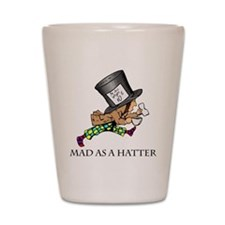 Mad-Hatter Shot Glass