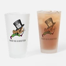Mad-Hatter Drinking Glass
