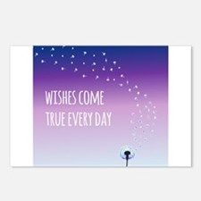 Wishes come true everyday Postcards (Package of 8)