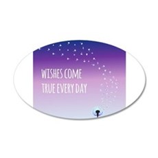 Wishes come true everyday Wall Sticker