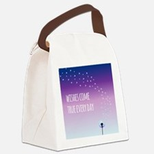 Wishes come true everyday Canvas Lunch Bag