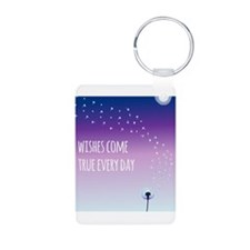 Wishes come true everyday Keychains