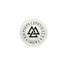 Rune Shield Mini Button