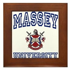 MASSEY University Framed Tile