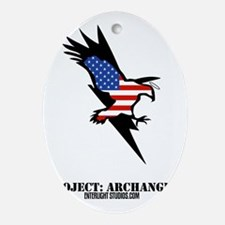 archangellogoweb Oval Ornament