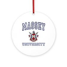 MASSEY University Ornament (Round)