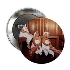 "Sauna Girlfriends in Towels 2.25"" Button"