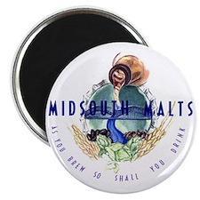 midsouth malts logo 2 Magnet