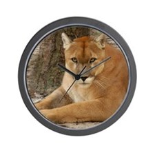 Cougar 003 Wall Clock