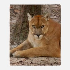 Cougar 003 Throw Blanket