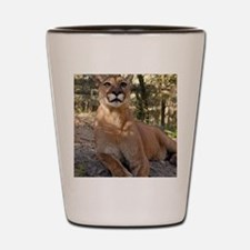 Cougar 009 Shot Glass