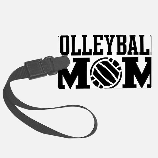 volleyball-mom-long-black Luggage Tag