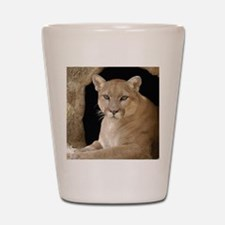 Cougar 014 Shot Glass