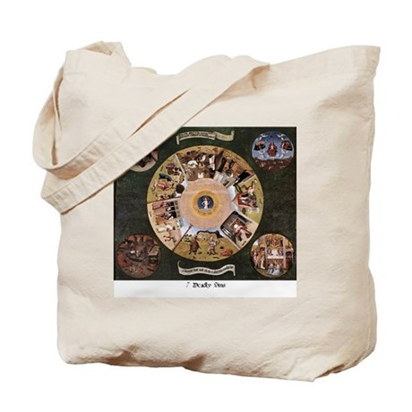 7 Deadly Sins Tote Bag