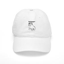 Bulldogger Logo Black Baseball Cap