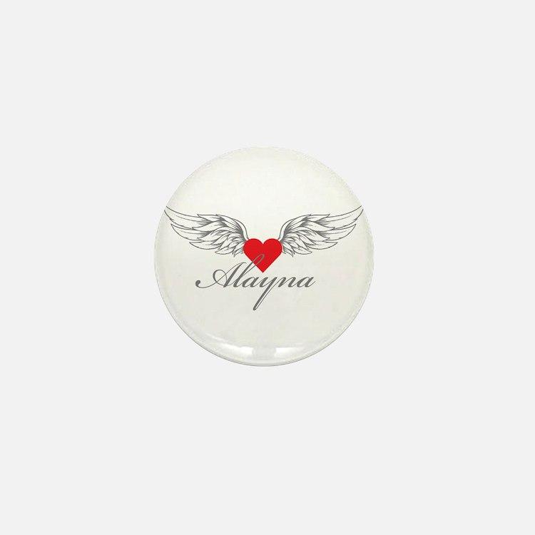 Angel Wings Alayna Mini Button