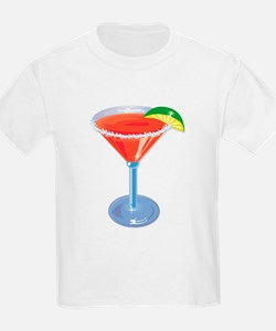 Margarita with Lime Kids T-Shirt