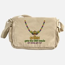 HeartCrownQbbeadsTR Messenger Bag