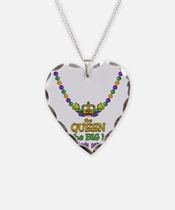 HeartCrownQbbeadsTR Necklace