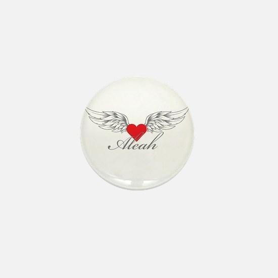 Angel Wings Aleah Mini Button