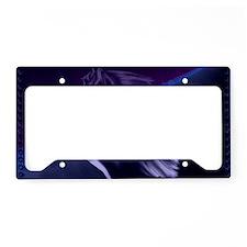 Horse Silhouette Shadowed -Ya License Plate Holder