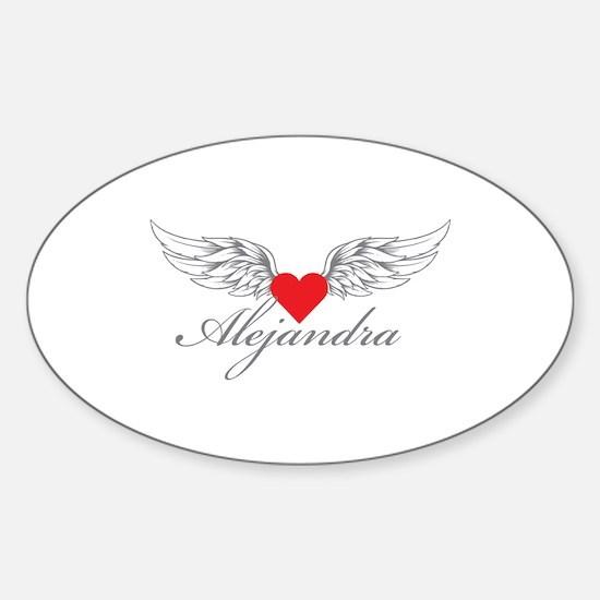 Angel Wings Alejandra Decal