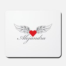 Angel Wings Alejandra Mousepad