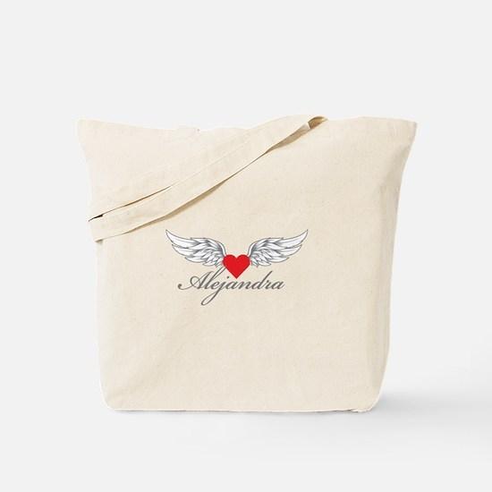 Angel Wings Alejandra Tote Bag