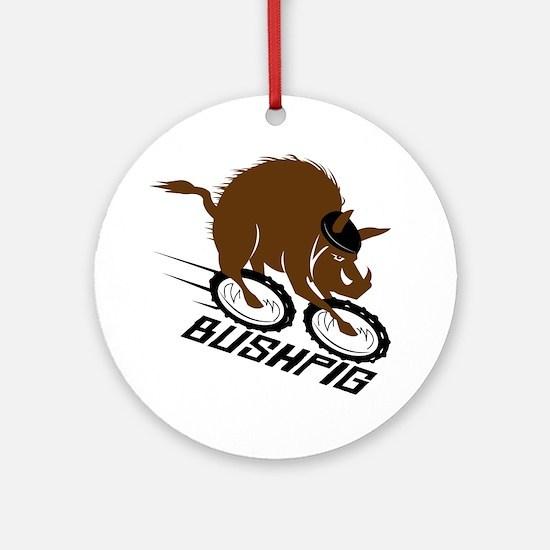 bushpig Round Ornament