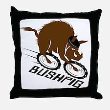 bushpig Throw Pillow