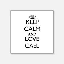Keep Calm and Love Cael Sticker