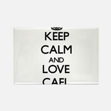 Keep Calm and Love Cael Magnets