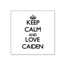 Keep Calm and Love Caiden Sticker