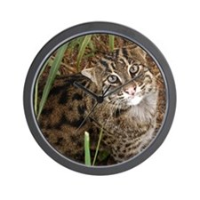 FishingCat001 Wall Clock