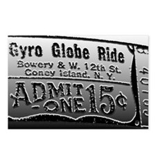 Ticket Globea Postcards (Package of 8)