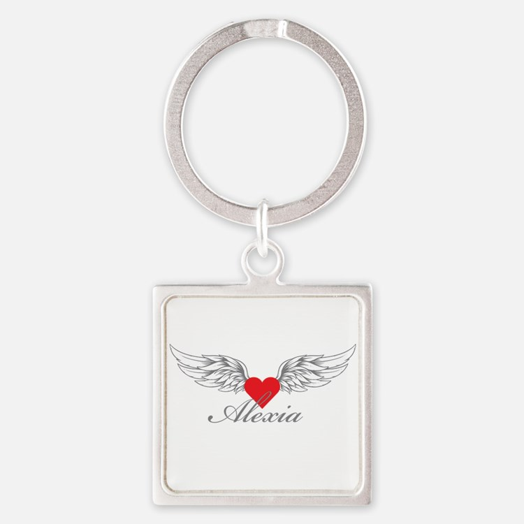 Angel Wings Alexia Keychains