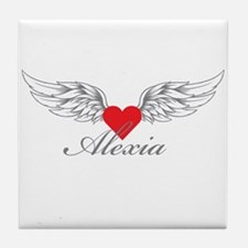 Angel Wings Alexia Tile Coaster