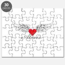 Angel Wings Alexis Puzzle
